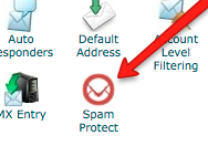 Spam Protect in cPanel